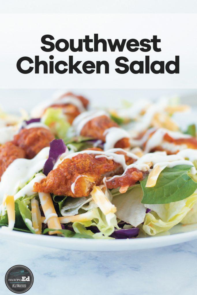 Chickfila Inspired Southwest chicken salad