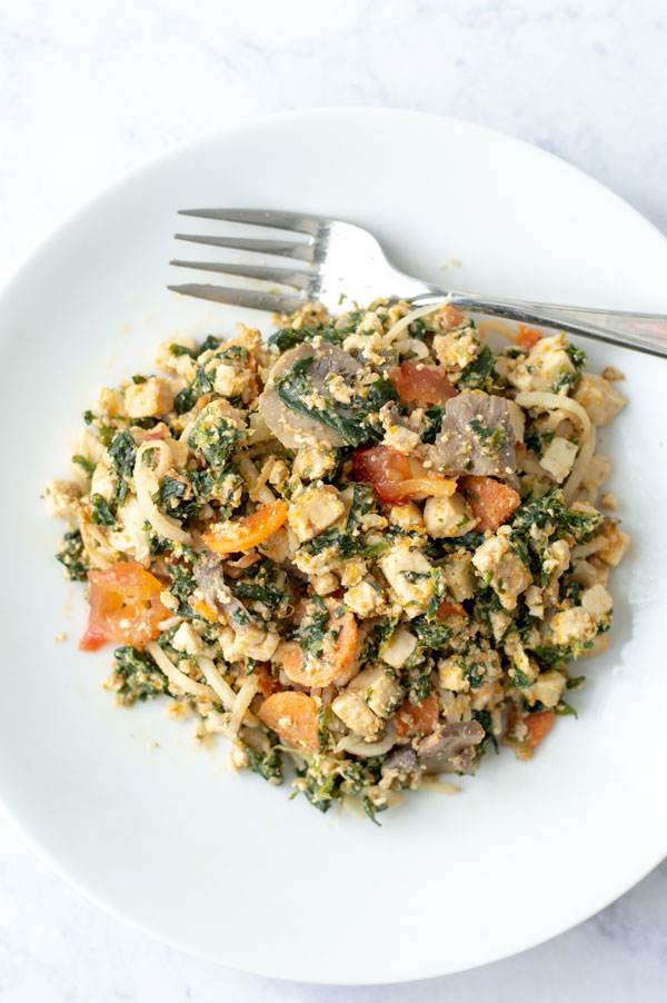 meat and veggie hash