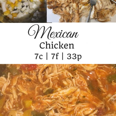 Pressure Cooker Mexican Chicken