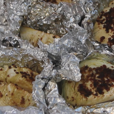Roasted (or Grilled) Cabbage Steaks