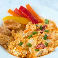 Buffalo Chicken Dip Macro-Friendly Slow Cooker Recipe