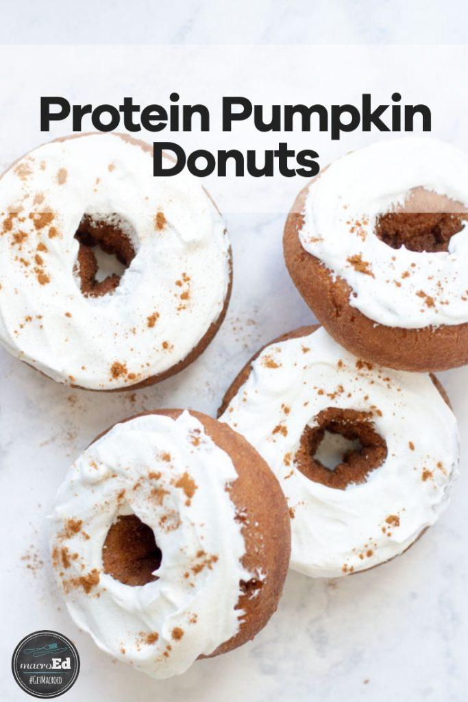 Protein Pumpkin Donuts