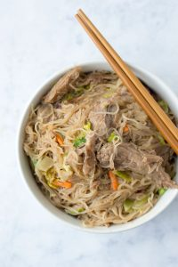 MacroEd Low Carb Pork Chow Mein