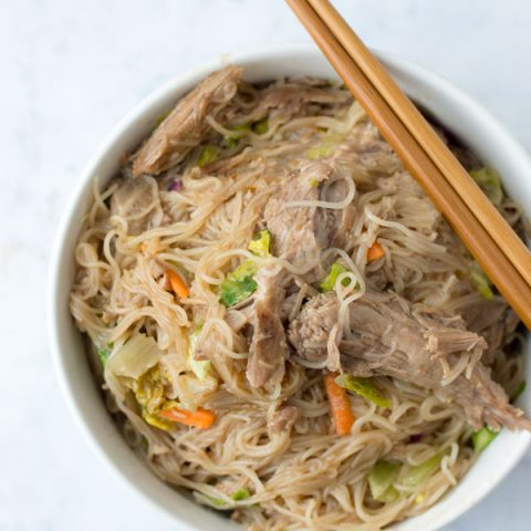 MacroEd Low Carb Pork Chow Mein