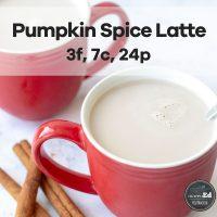 Protein Pumpkin Spice Latte