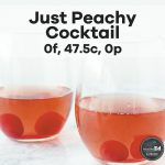 Just Peachy Cocktail