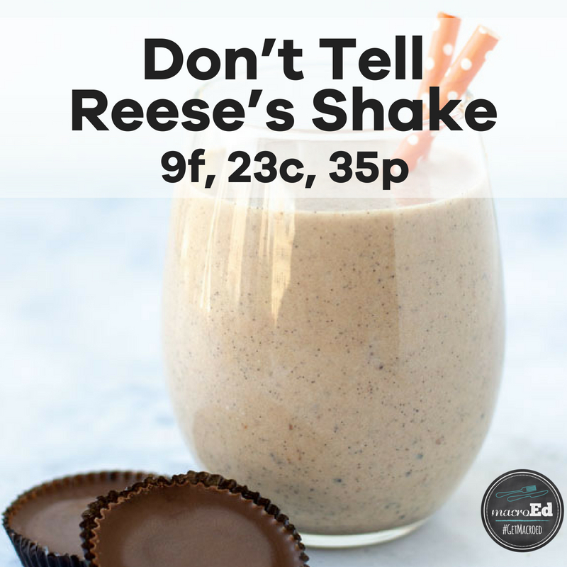 Don't Tell Reese's Shake