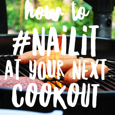 How to Enjoy a Cookout WITHOUT Wrecking Your Goals