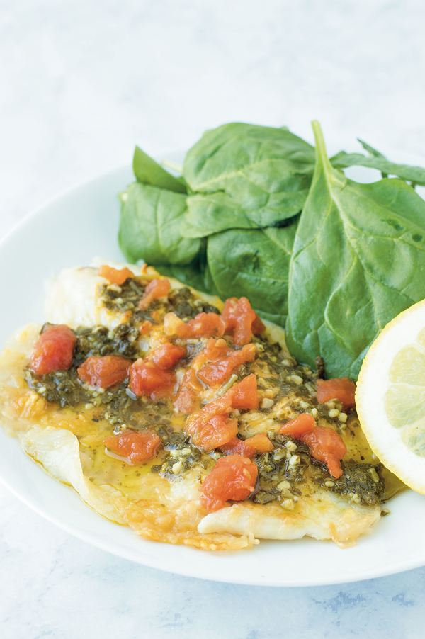 This Italian Tilapia recipe is a perfect (not to mention delicious) way to add more seafood into your diet. Ready in 15 minutes, this is a MUST-try for your busy schedule.