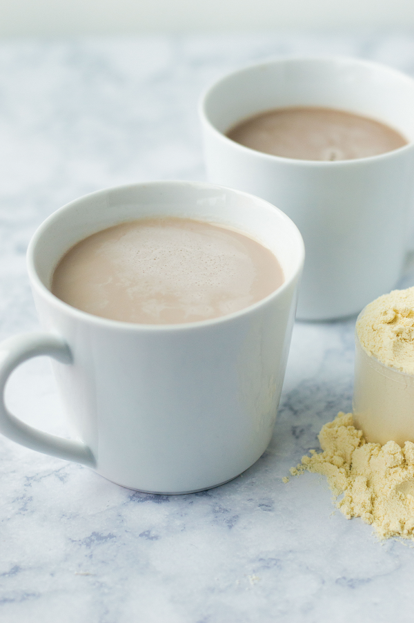 easy coffee with protein powder