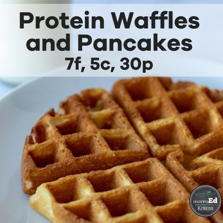 A simple keto recipe for high protein and low carb pancakes and waffles.