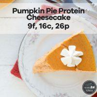 Pumpkin Pie Protein Cheesecake