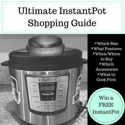 Ultimate InstantPot Shopping Guide