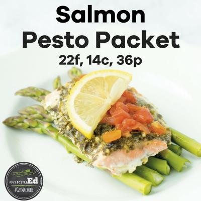 Salmon Pesto Packets