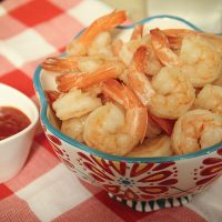 1-Minute Shrimp in the InstantPot